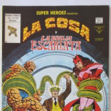 Cómics: LA COSA Y LA BRUJA ESCARLATA. Lote 51464562