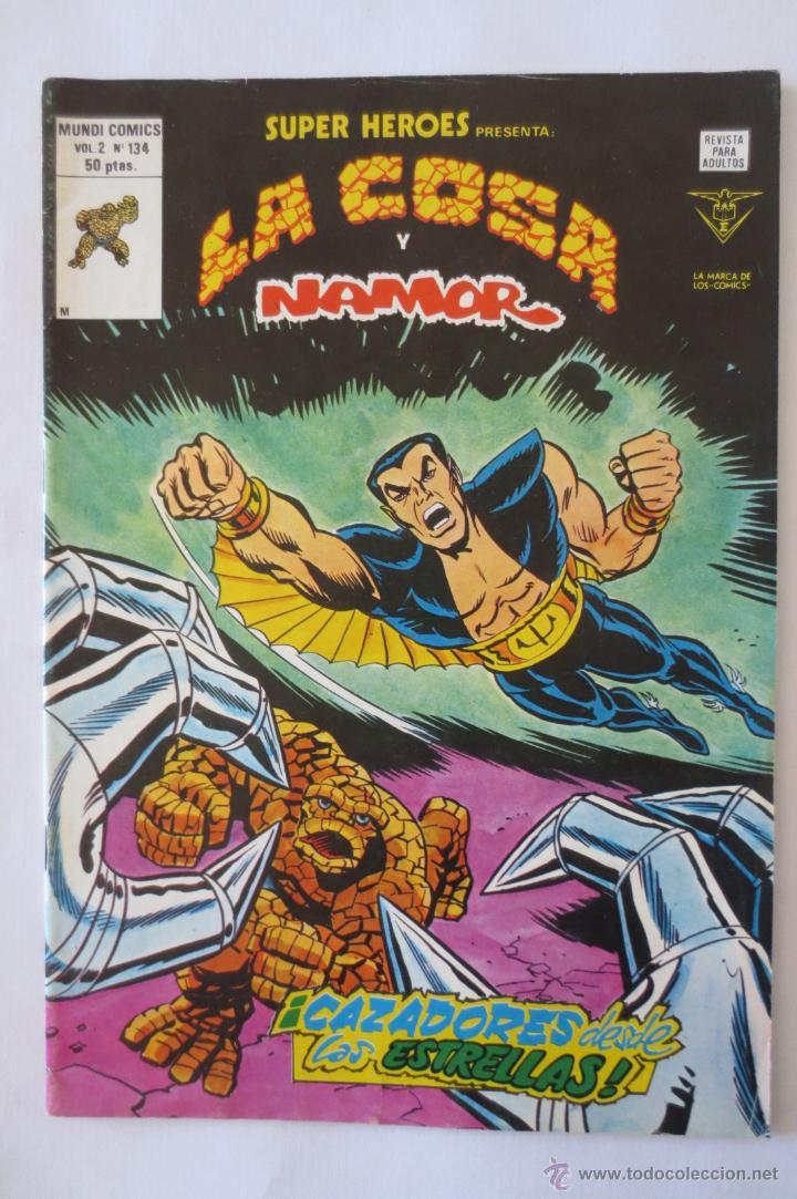 LA COSA Y NAMOR VOL 2 Nº 134 VERTICE (Tebeos y Comics - Vértice - Super Héroes)