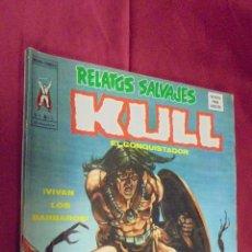 Cómics: RELATOS SALVAJES. VOL. 1. Nº 13. KULL EL CONQUISTADOR. VERTICE.. Lote 51511801