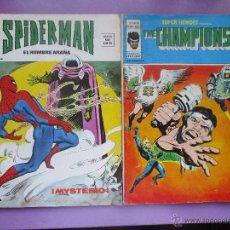 Cómics: SUPER HEROES Nº 76 VOL. 2 Y SPIDERMAN Nº 7 VOL. 3, VERTICE.. Lote 51549359