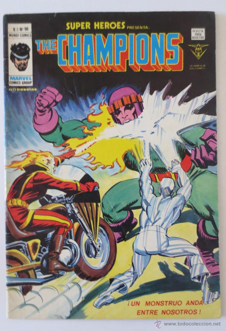 Cómics: THE CHAMPIONS V 2 96 VERTICE - Foto 1 - 51549837