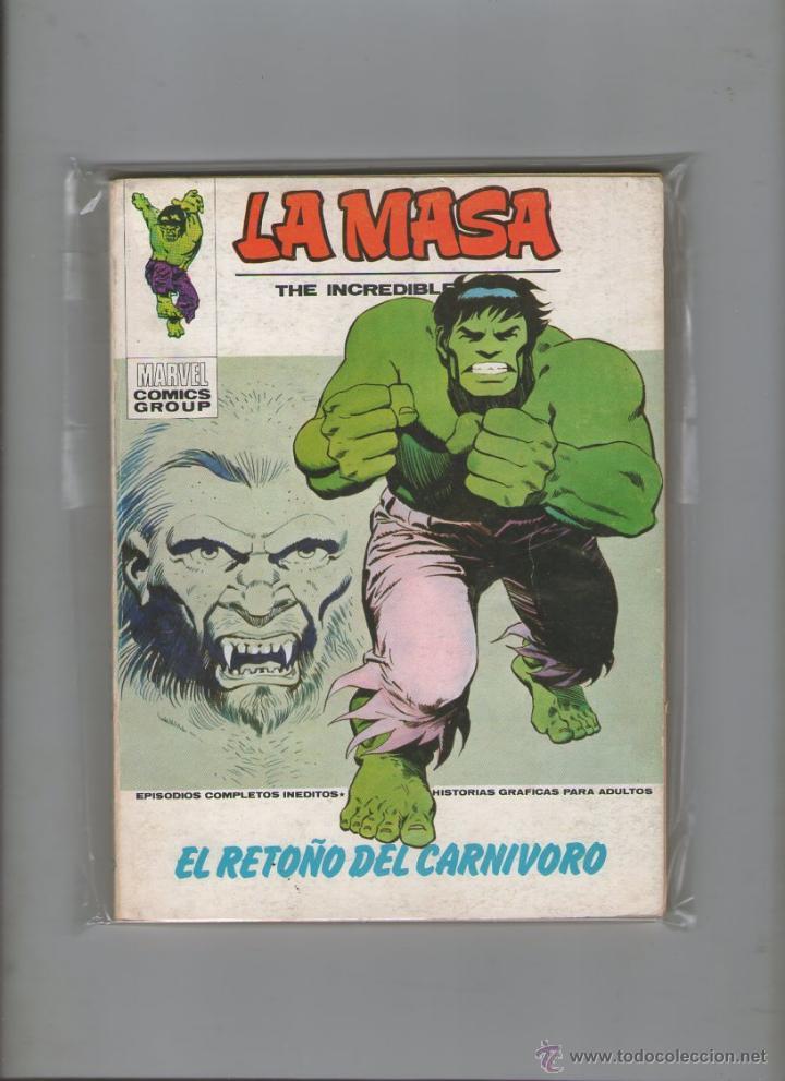 LA MASA .VOL. 1 Nº 31. 30 PTS. 1973.DA (Tebeos y Comics - Vértice - La Masa)