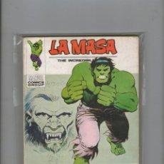 Cómics: LA MASA .VOL. 1 Nº 31. 30 PTS. 1973.DA. Lote 213911768