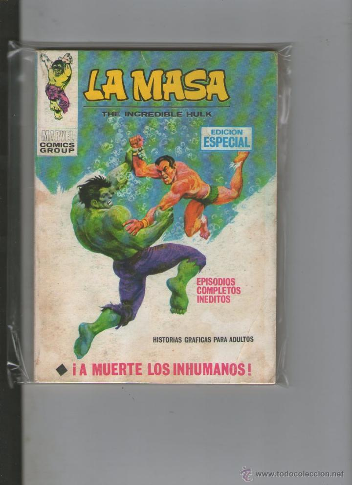 LA MASA Nº 8 VOL. 1. VERTICE.DA (Tebeos y Comics - Vértice - La Masa)