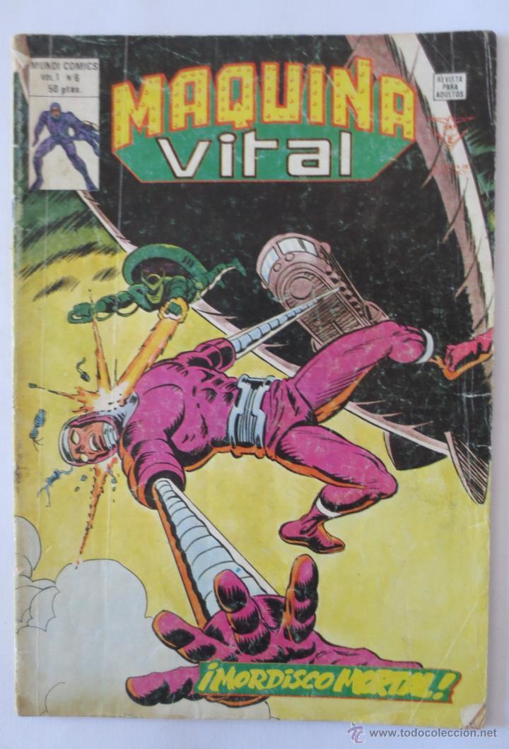 MAQUINA VITAL VOL 1 Nº 6 VERTICE (Tebeos y Comics - Vértice - Super Héroes)