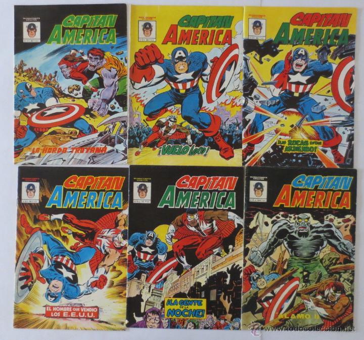 CAPITAN AMERICA 1 AL 10 COMPLETA VERTICE (Tebeos y Comics - Vértice - Super Héroes)