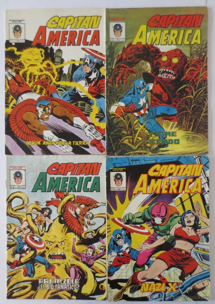 Cómics: CAPITAN AMERICA 1 AL 10 COMPLETA VERTICE - Foto 2 - 51646829