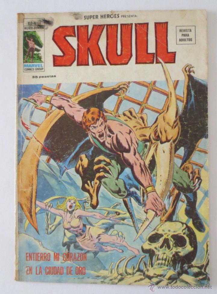 SKULL VOL 2 Nº 64 VERTICE (Tebeos y Comics - Vértice - Super Héroes)