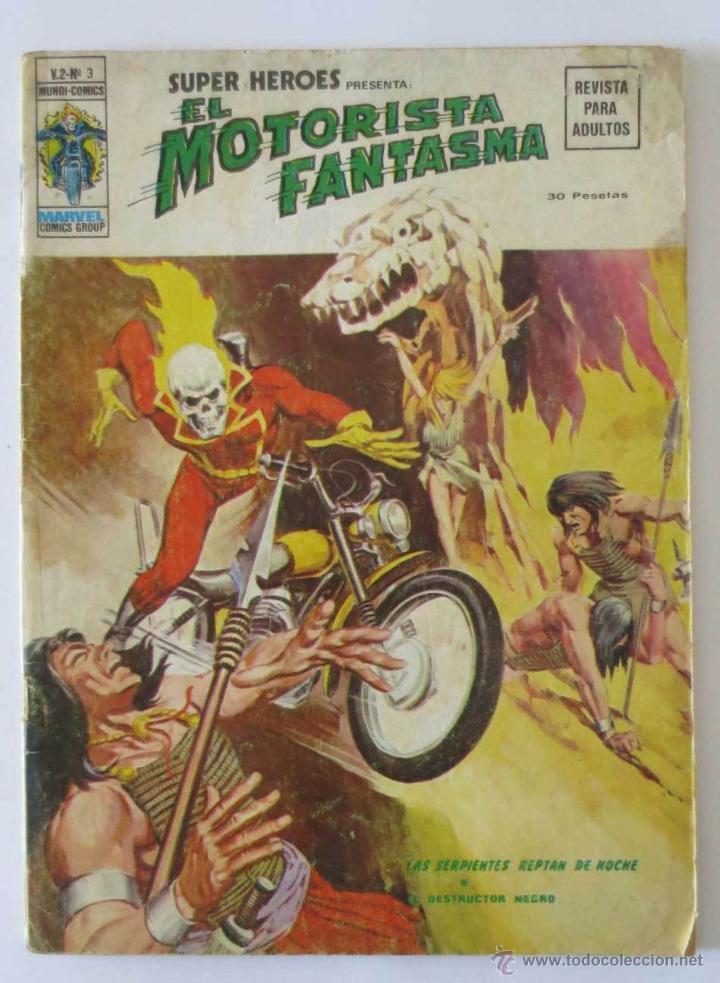 EL MOTORISTA FANTASMA VOL 2 Nº 3 VERTICE (Tebeos y Comics - Vértice - Super Héroes)
