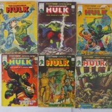 Cómics: THE RAMPAGING HULK Nº 2,4,6,8,9,10,11,12,13,14,15 VERTICE. Lote 51648159