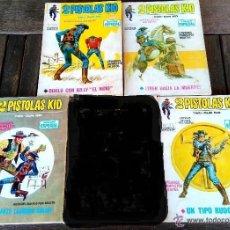 Cómics: VERTICE 1,LOTE 4 COMICS -2 PISTOLAS KID - UNICOS JUNTOS,1970, Nº,2,7,8 Y 11,EPOCA CAPITAN AMERICA. Lote 51093195