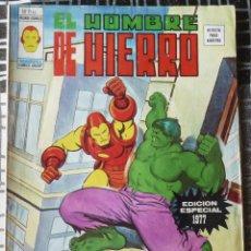 Cómics: EL HOMBRE DE HIERRO. EDICION ESPECIAL 1977. Lote 51681460