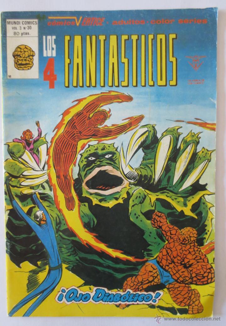LOS 4 FANTASTICOS VOL 3 Nº 30 VERTICE (Tebeos y Comics - Vértice - Super Héroes)
