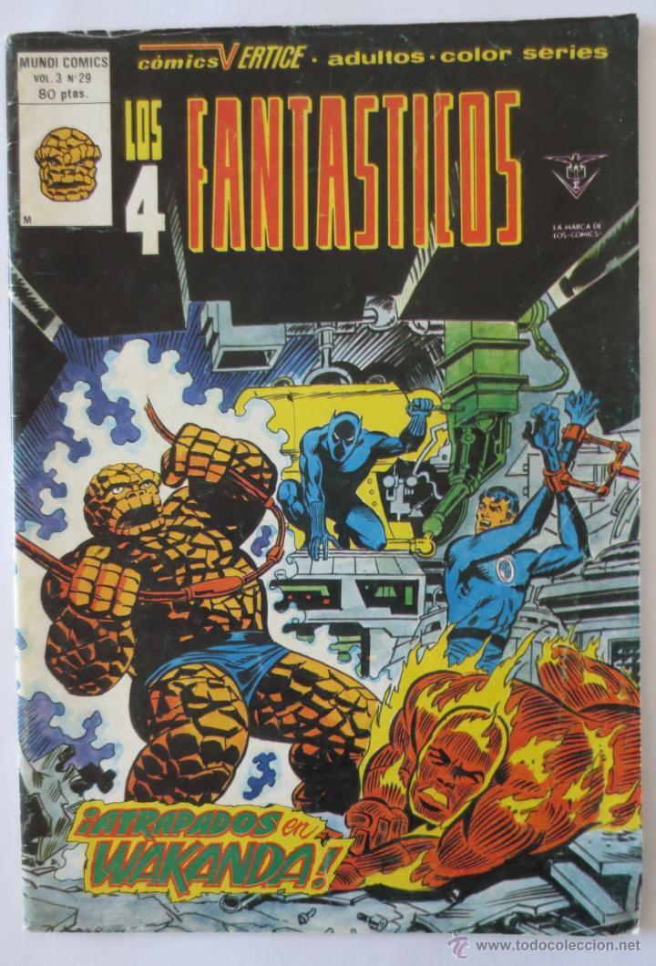 LOS 4 FANTASTICOS VOL 3 Nº 29 VERTICE (Tebeos y Comics - Vértice - Super Héroes)