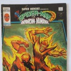 Comics : SPIDERMAN Y LA ANTORCHA HUMANA VOL 2 Nº 89 VERTICE. Lote 167670092