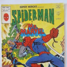 Cómics: SPIDERMAN Y MS. MARVEL VOL 2 Nº 105 VERTICE. Lote 51690567