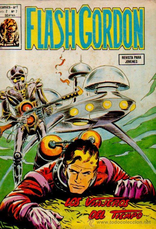 FLASH GORDON. LOS VIAJEROS DEL TIEMPO - CÓMICS ART. VOLUMEN 2. Nº7. EDICIONES VÉRTICE, 1979 (Tebeos y Comics - Vértice - Flash Gordon)
