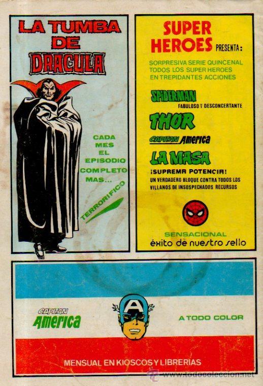 Cómics: FLASH GORDON. LOS VIAJEROS DEL TIEMPO - CÓMICS ART. VOLUMEN 2. Nº7. EDICIONES VÉRTICE, 1979 - Foto 4 - 51719726