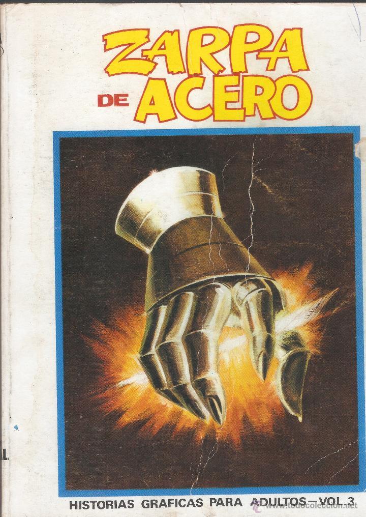 ZARPA DE ACERO VOL 1. Nº 3 - EDICIÓN ESPECIAL - TACO VÉRTICE - 1971. (Tebeos y Comics - Vértice - Otros)