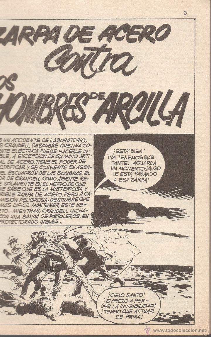 Cómics: ZARPA DE ACERO VOL 1. Nº 3 - EDICIÓN ESPECIAL - TACO VÉRTICE - 1971. - Foto 2 - 51777404