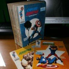 Cómics: LOTE 10 COMICS CAPITAN AMÉRICA VOL. 1 - Nº 2,3,4,6,7,8,12,13,14,17 - EDICIÓN ESPECIAL - 1969 Y 1970.. Lote 51778014