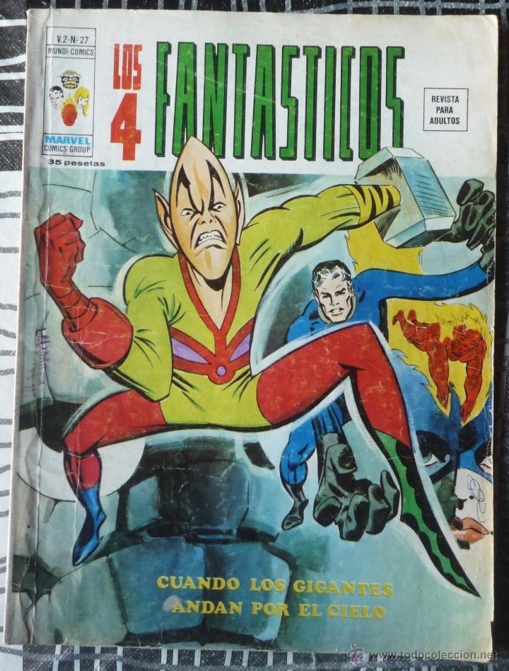 LOS 4 FANTASTICOS V.2 Nº 27 (Tebeos y Comics - Vértice - 4 Fantásticos)