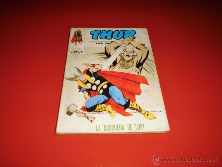 THOR VOL. 1 Nº35 VERTICE (Tebeos y Comics - Vértice - Thor)