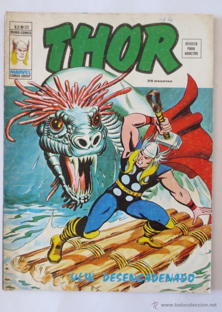 THOR VOL 2 Nº 22 VERTICE (Tebeos y Comics - Vértice - Super Héroes)