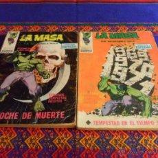 Cómics: VÉRTICE VOL. 1 LA MASA NºS 15 Y 16. 25 PTS. 1971.. Lote 52344797