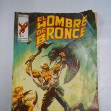 Cómics: EL HOMBRE DE BRONCE Nº 9. LAS TUTACIONES MAYAS. VERTICE. COMICS ART. TDKC11. Lote 52393460