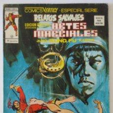 Cómics: RELATOS SALVAJES ARTES MARCIALES Nº 43 VERTICE. Lote 52455948