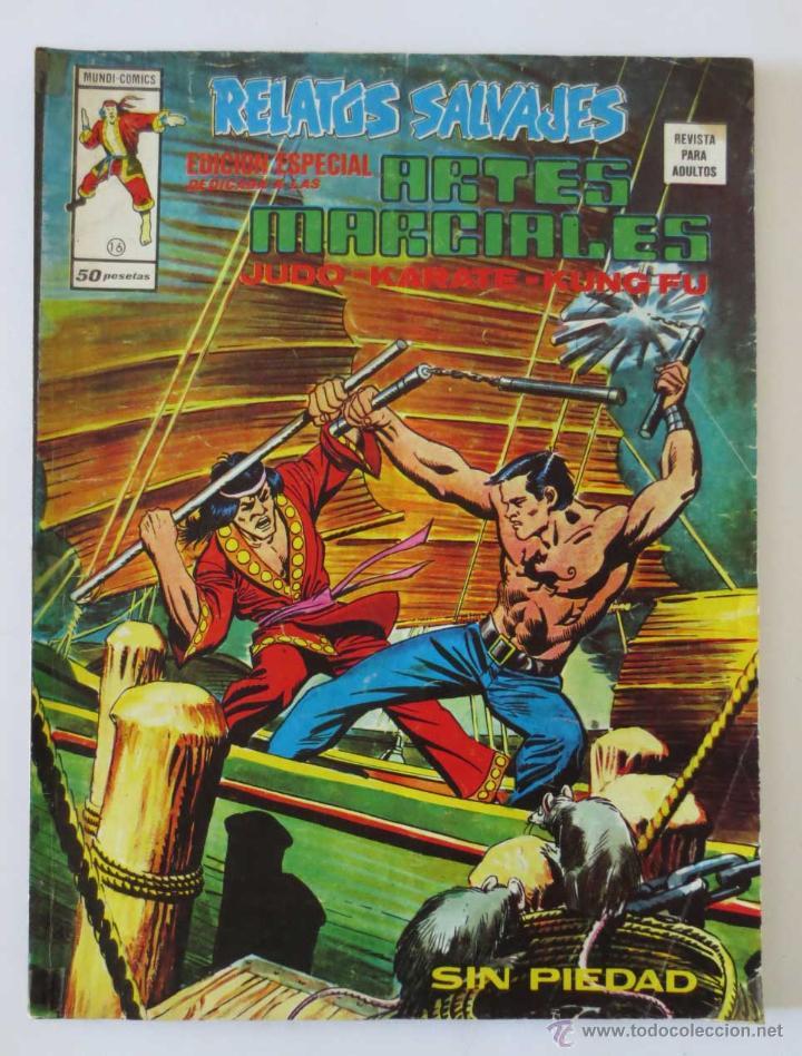 RELATOS SALVAJES ARTES MARCIALES Nº 16 VERTICE (Tebeos y Comics - Vértice - Relatos Salvajes)
