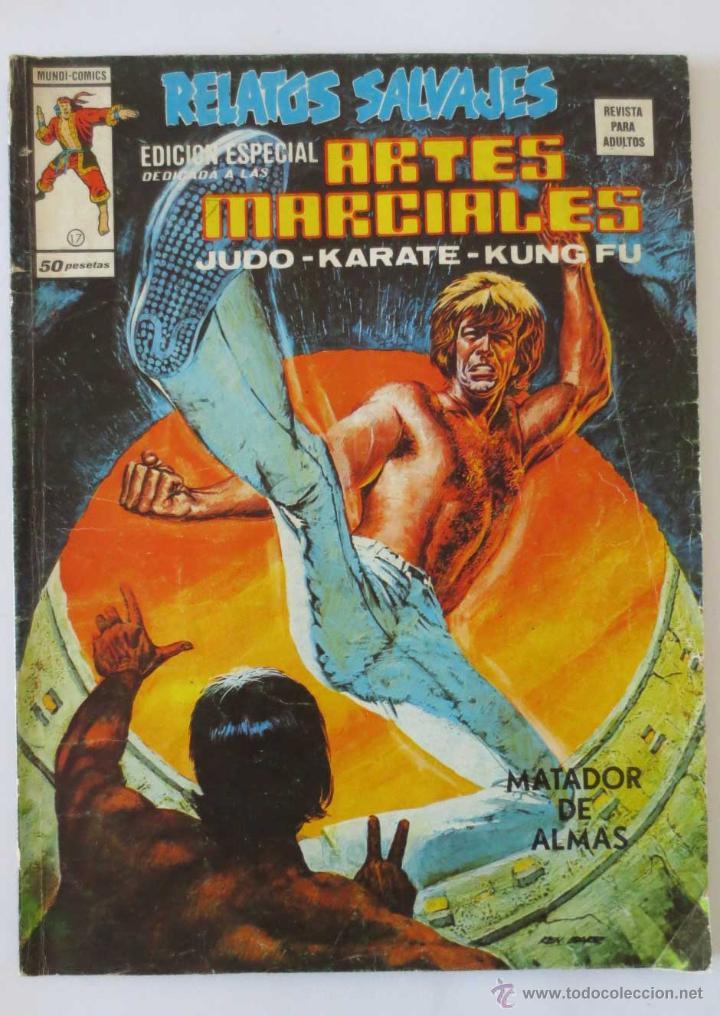 RELATOS SALVAJES ARTES MARCIALES Nº 17 VERTICE (Tebeos y Comics - Vértice - Relatos Salvajes)