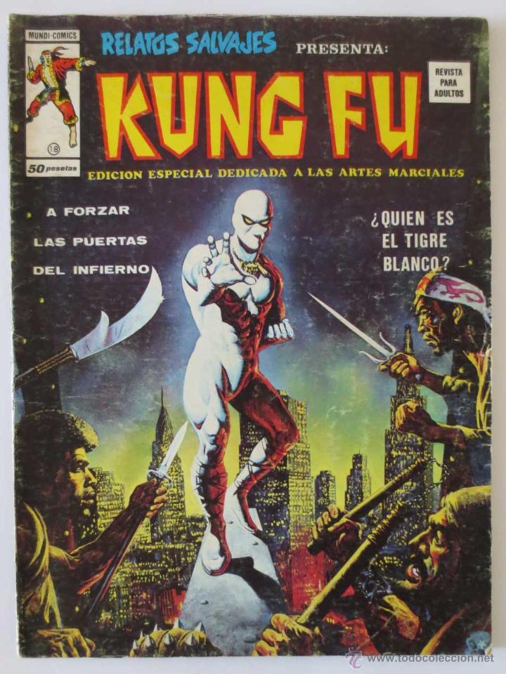 RELATOS SALVAJES KUNG FU Nº 18 VERTICE (Tebeos y Comics - Vértice - Relatos Salvajes)