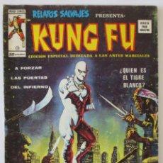 Comics : RELATOS SALVAJES KUNG FU Nº 18 VERTICE. Lote 52467437