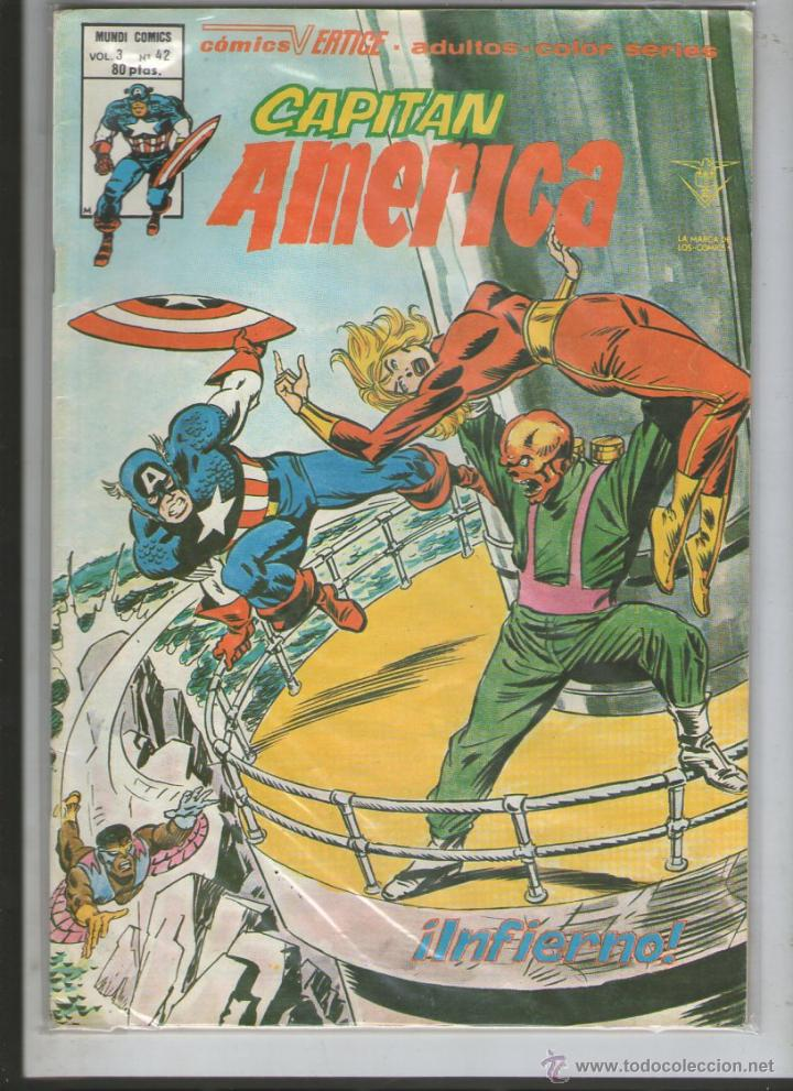 CAPITAN AMERICA VOL 3 Nº 42 VERTICE.DA (Tebeos y Comics - Vértice - Capitán América)