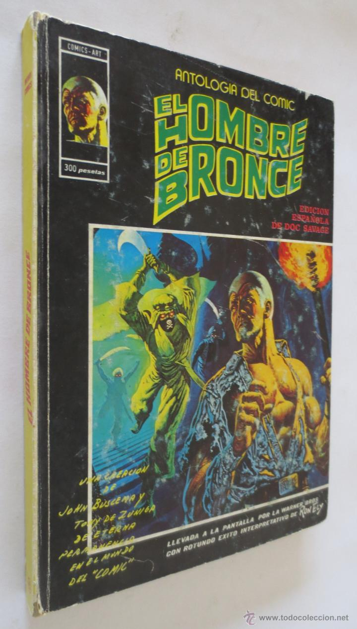 ANTOLOGIA DEL COMIC EL HOMBRE DE BRONCE Nº 6 VERTICE (Tebeos y Comics - Vértice - Super Héroes)