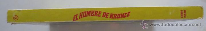 Cómics: ANTOLOGIA DEL COMIC EL HOMBRE DE BRONCE Nº 6 VERTICE - Foto 2 - 52505839