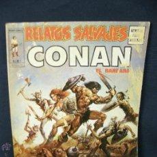 Cómics: RELATOS SALVAJES Nº 5. V.1. CONAN EL BARBARO. LAS MUJERES GUERRERAS DE CONAN. VERTICE. 27,5X20,5CMS. Lote 52564003