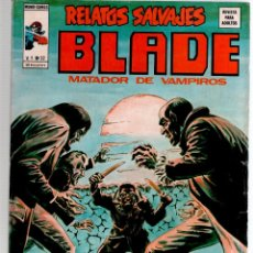 Cómics: VERTICE V 1 Nº 32 RELATOS SALVAJES BLADE MATADOR DE VAMPIROS. Lote 52589168