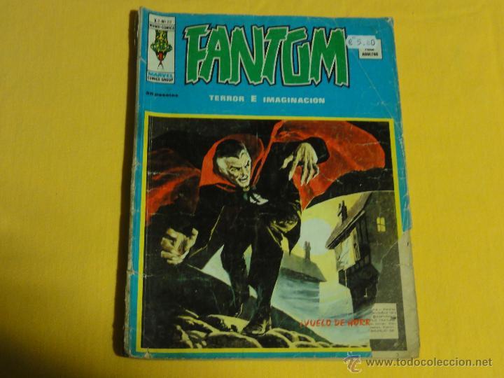 FANTOM VOL.2. Nº22 . C-7. (Tebeos y Comics - Vértice - Terror)