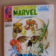 Fumetti: HEROES MARVEL VOL 1 Nº 6 LOS INHUMANOS VISPERAS DE MUERTE VERTICE TACO. Lote 52610378