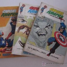 Cómics: TRES COMICS CAPITAN AMERICA - Nº: 14, 26, 32. Lote 52646892