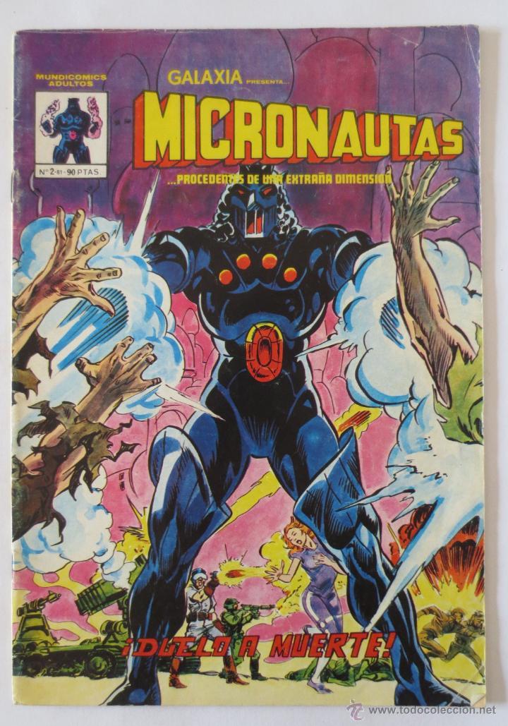 MICRONAUTAS Nº 2 VERTICE (Tebeos y Comics - Vértice - Super Héroes)