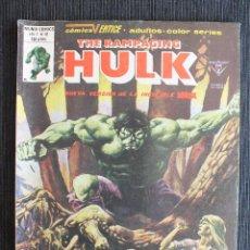 Cómics: THE RAMPAGING HULK Nº 10 MUNDI COMICS EDITORIAL VERTICE. Lote 52757536