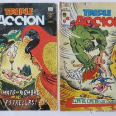 Cómics: TRIPLE ACCION VOL 1 COMPLETA VERTICE. Lote 52766736