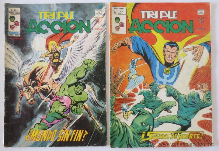Cómics: TRIPLE ACCION VOL 1 COMPLETA VERTICE - Foto 3 - 52766736