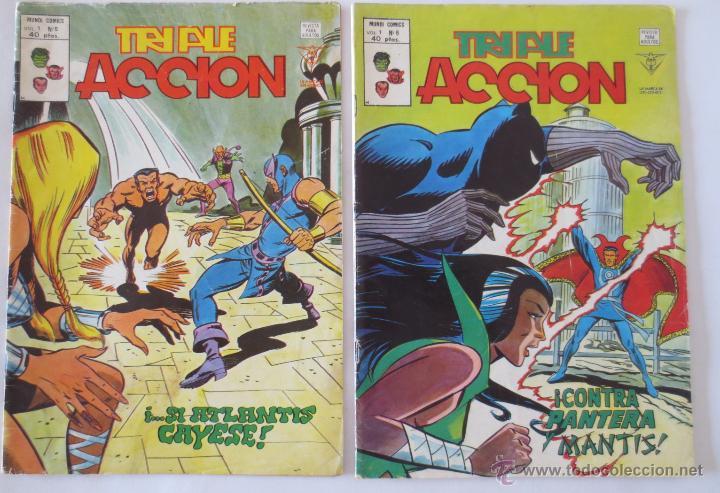 Cómics: TRIPLE ACCION VOL 1 COMPLETA VERTICE - Foto 4 - 52766736