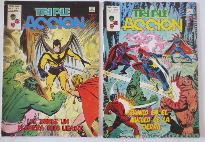 Cómics: TRIPLE ACCION VOL 1 COMPLETA VERTICE - Foto 6 - 52766736