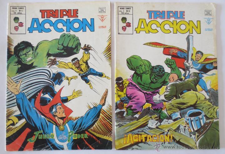 Cómics: TRIPLE ACCION VOL 1 COMPLETA VERTICE - Foto 7 - 52766736